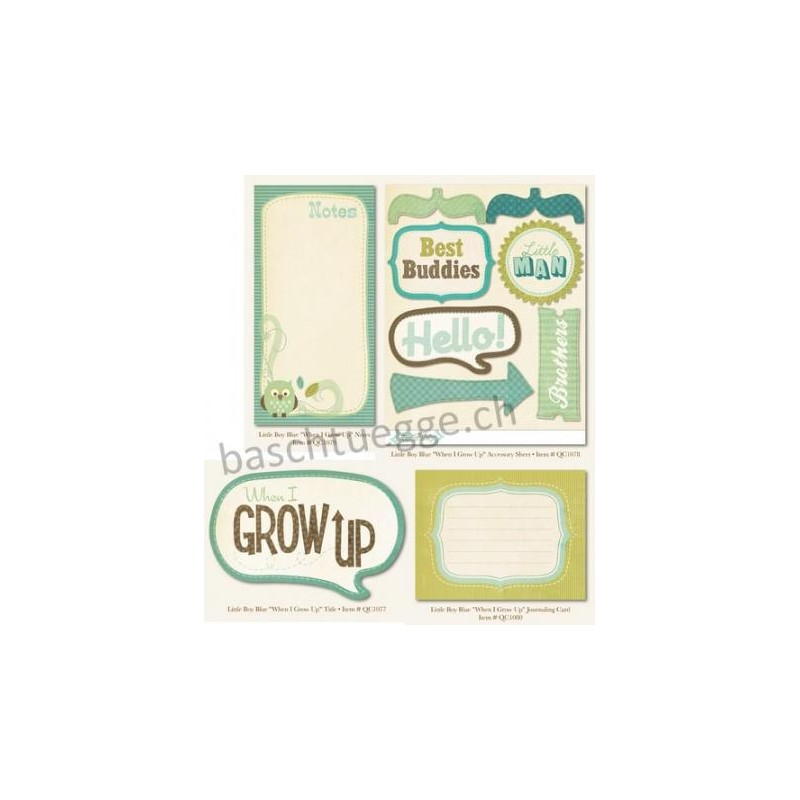 Embellishment Pack - When I Grow Up_10249