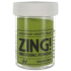 ZING! Embossing Powder Leaf