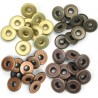 Eyelets Wide - Warm Metal
