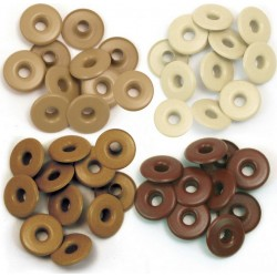 Eyelets Wide - Brown