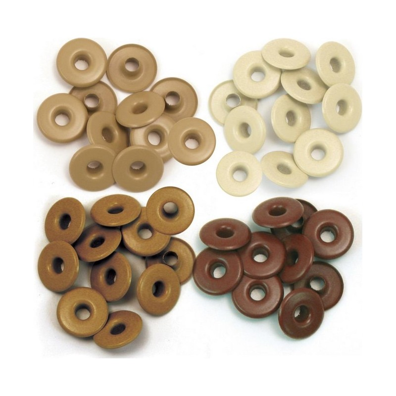 Eyelets Wide - Brown_11605