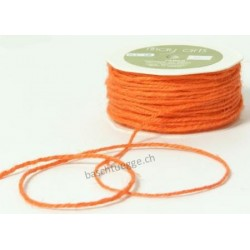 Burlap String - Orange