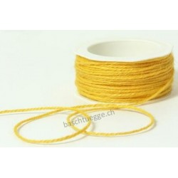 Burlap String - Yellow