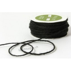 Burlap String - Black