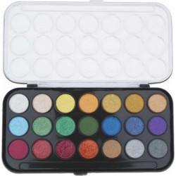 Pearlescent Watercolor Set - 21 colors_12877