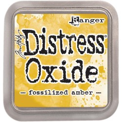 Distress Oxide - Fossilized Amber_16633
