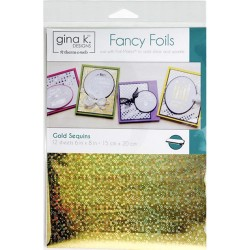 Deco Foil - Gold Sequins