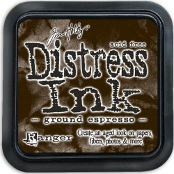Distress Ink Pad - Ground Espresso_19921