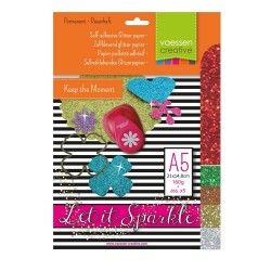 Glitzerpapier - assortiment 4_22861