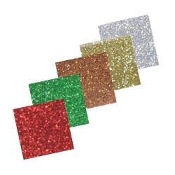 Glitzerpapier - assortiment 4_22862