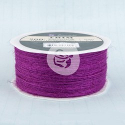 Jute Trim 1mm - Berry