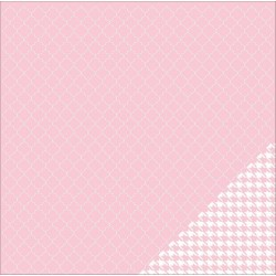 Basics - Light Pink Quatrefoil