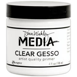 Dina Wakley Media Gesso - clear_25369