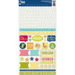 Souper Celebration Cardstock Stickers_2761