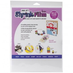Shrink Film Clear Inkjet