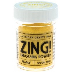 ZING! Embossing Powder Mustard