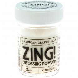 ZING! Embossing Powder Clear