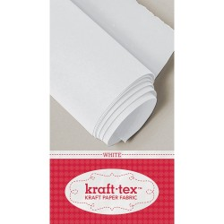 Kraft-Tex Kraft Paper Fabric - white_31225