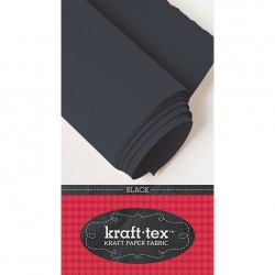 Kraft-Tex Kraft Paper Fabric - black_31249
