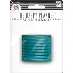 Planner Discs - teal - large