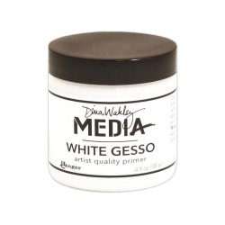 Dina Wakley Media Gesso - White_32713
