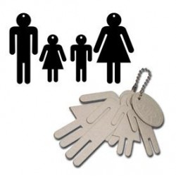 People Keychain Set_38881