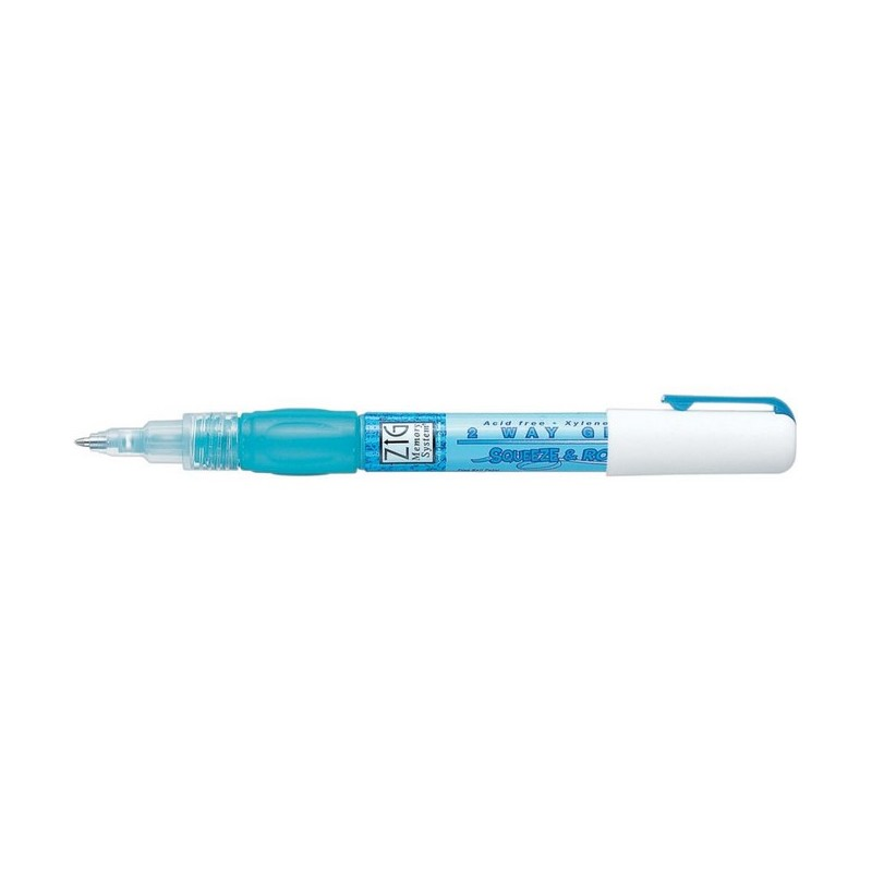 ZIG 2-way Glue pen (squeeze & roll)_39709