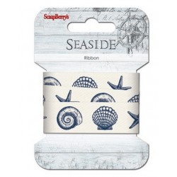 Printed cotton ribbon Seaside