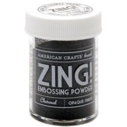 ZING! Embossing Powder - Charcoal_45337