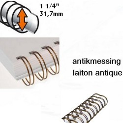 "Binding O-Wire 1 1/4"" - antikmessing_45445"