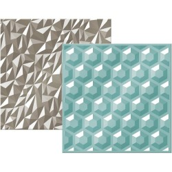 Next Level Embossing Folder - Gemstone_4657