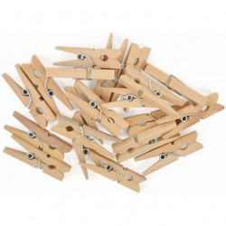Mini Clothespins - Tiny Pegs_47605