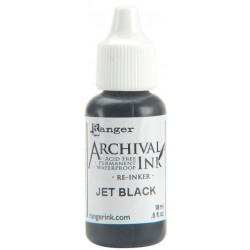 Reinker - Archival Ink - Jet Black_5053