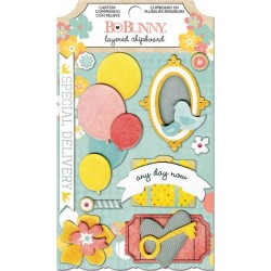 Baby Bump Self-Adhesive Layered Chipboard_51613