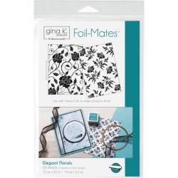 Foil-Mates Background - Elegant Florals_51709