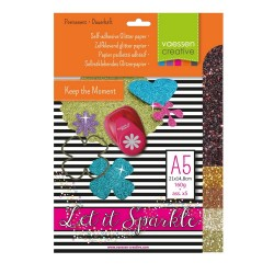 Glitzerpapier - assortiment 2_51949