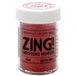 ZING! Embossing Powder - Glitter Red_54133