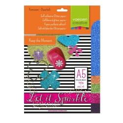 Glitzerpapier - assortiment 5_54205