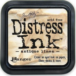 Distress Ink Pad - Antique Linen_5461