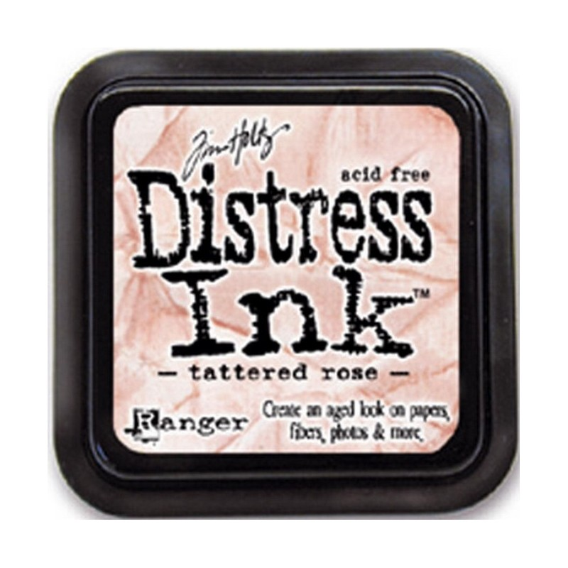 Distress Ink Pad - Tattered Rose_5533
