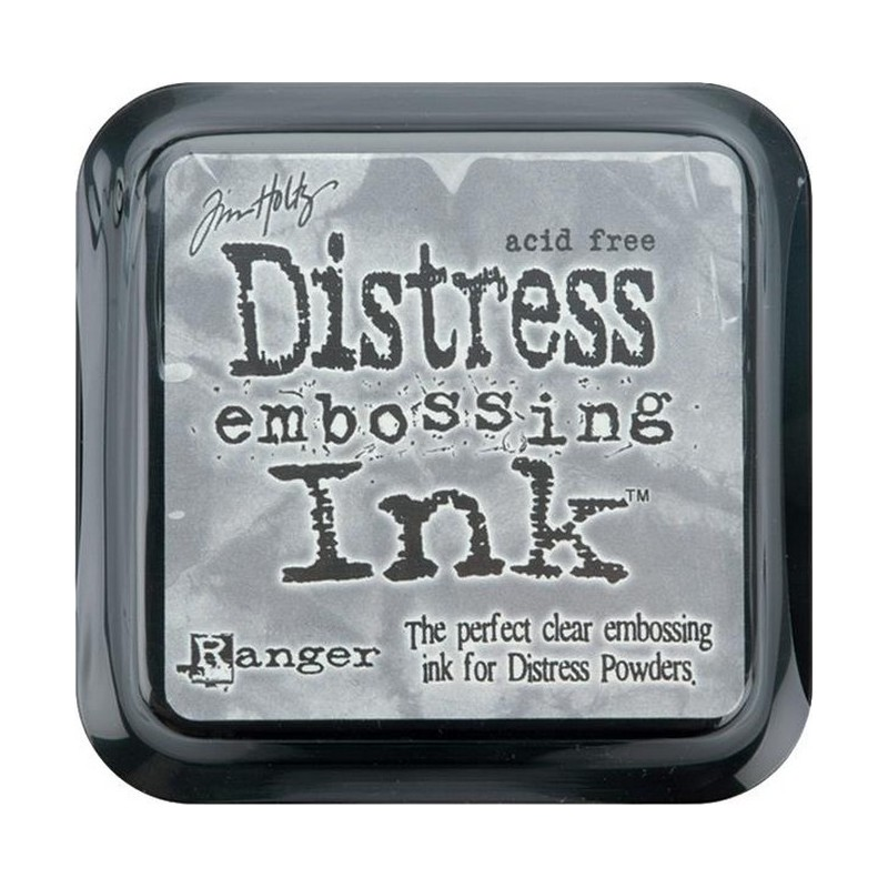 Distress Ink Pad - Clear Embossing_5557