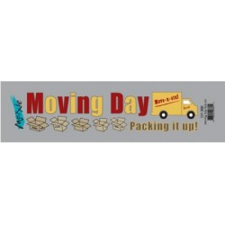 Moving Day Rub-on
