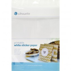 Printable White Sticker Paper