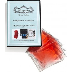 Embossing Gel Pacs Medium 5/Pk