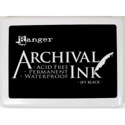 Archival Ink Jumbo Inkpad - Jet Black_59929