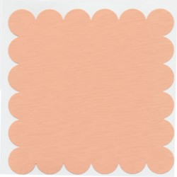Scalloped Peach Glow_61669