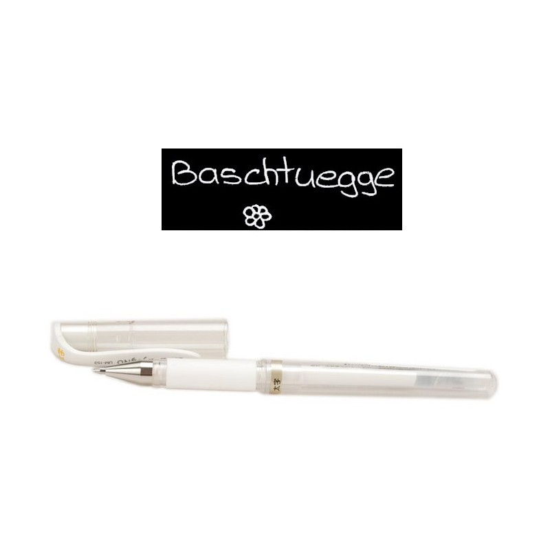 UNIBALL Signo broad white_6169