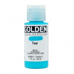 Golden Fluid Acrylic Paints - Teal_62173