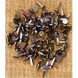 Mini Brads Assorted Screws_63613