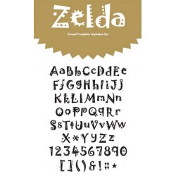 zelda grand 4x8 alphabet set